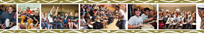school drumming program pictures