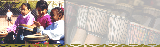rhythm and drumming for schools