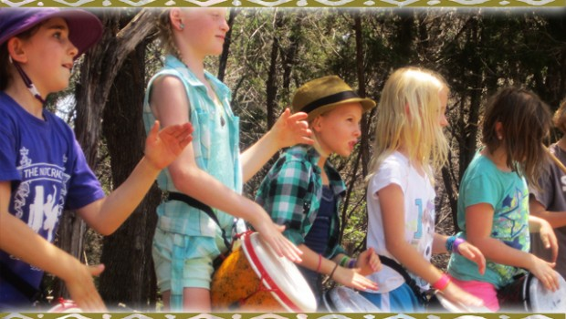 homeschool drumming