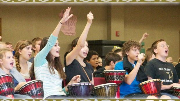Gifted students drumming programs