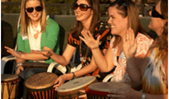 College Students & Drumming Programs
